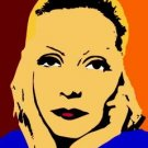 SC Greta Garbo pop art print 1 of 25 w/signed COA