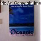 LOST tv show Oceanic Airlines poster prop 31 X 24 WOW