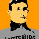 SC Honus Wagner rookie card pop art print 1 of 25