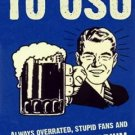 FRAMED HATE OSU Bar Room Sign Michigan Wolverines FUNNY