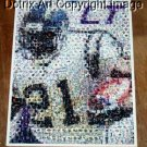 Amzng LaDainian Tomlinson Chargers Montage 1 of only 25