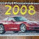 Amazng 2008 Chevrolet Corvette poster Montage #ed to 25