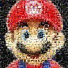 NINTENDO Mario Video Game Montage art print only 25 evr