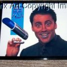 Friends TV show Joey Ichiban Lipstick ad framed prop