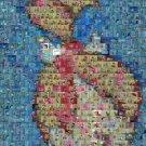 Amazing Pebbles Flintstones montage signed #ed to 25