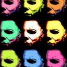 CANVAS Michael Myers Halloween Warhol pop art print limited signed coa 1-25