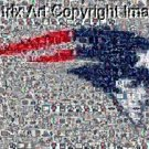 Amazing New England Patriots logo Montage #ed to 25