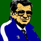 SC Penn State Joe Paterno pop art print w/signed COA
