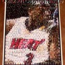 Amazing Miami Heat Dwayne Wade Montage. 1 of only 25!!