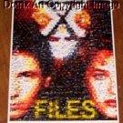 Amazing Amazing X-Files UFO Montage. UNBELIEVABLE limited signed coa 1-25