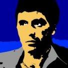 SC Al Pacino Scarface pop art print 1 of 25 signed COA