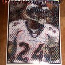 Amazng Denver Broncos Champ Bailey Montage 1 of only 25