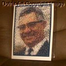 Amazing Green Bay Packers Vince Lombardi Montage limited signed coa 1-25