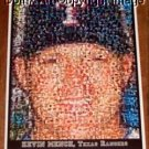 Amazing Texas Rangers Kevin Mench Montage 1 of only 25