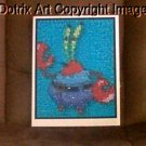Amazing Spongebob Squarepants Mr Krabs Montage limited signed coa 1-25
