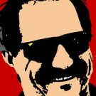 SC Dale Earnhardt pop art print 1 of 25 w/signed COA