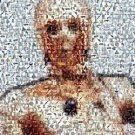 Amazing Star Wars C3PO C3P0 Montage 1 of only 25 EVER