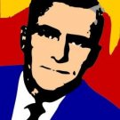 SC The Twilight Zone Rod Serling pop art print #ed COA 1-25