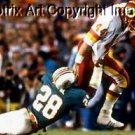 faux Oil Painting Art John Riggins SB Run on CANVAS