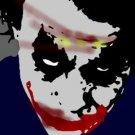 SC Heath Ledger Joker pop art Batman w/signed COA 1-25