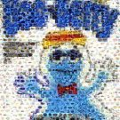 Amazing Boo Berry Cereal Pop Art Montage Only 25 made signed coa