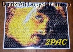Amazing 2Pac Tupac Shakur African-American Montage #ed 1-25