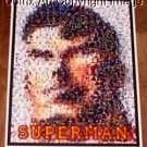 Amazing RARE SUPERMAN Montage 1 of only 25 ever!