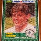 Amazing Dallas Cowboys Troy Aikman Rookie Card Montage 1-25