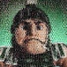 Amazing Michigan State Spartans SPARTY Montage #ed COA 1-25