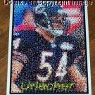 Amazing Chicago Bears Brian Urlacher Montage. 1 of 25