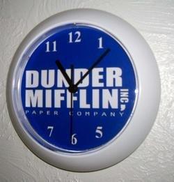 NEW The Office Clock prop Dunder Mifflin new