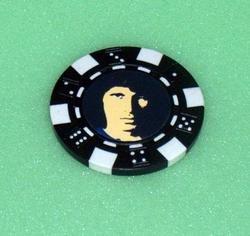 RARE The Doors Jim Morrison Las Vegas Casino Poker Chip