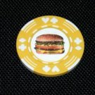 Big Mac Cheeseburger Vegas Casino Poker Chip limited