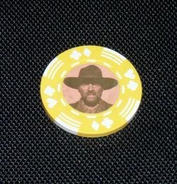 Back To The Future Biff Old West Poker Chip limited