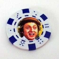 Willy Wonka Las Vegas Casino Poker Chip limited edition