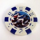 Evel Knievel Las Vegas Casino Poker Chip limited editon