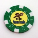 Back To The Future Prop Biffs Casino Poker Chip LIMITED