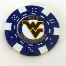 WVU West Virginia Mountaineers Vegas Casino Poker Chip