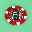 300 movie King Leonidas Las Vegas Casino Poker Chip