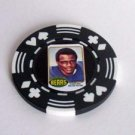 Walter Payton rookie card Vegas Poker Chip lim edition
