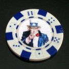 Uncle Sam I WANT YOU Las Vegas Casino Poker Chip