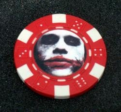 Batman Dark Knight JOKER Las Vegas Casino Poker Chip