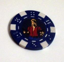 Chuck Norris Las Vegas Casino Poker Chip limted edition