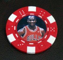 Michael Jordan Las Vegas Casino Poker Chip limited ed