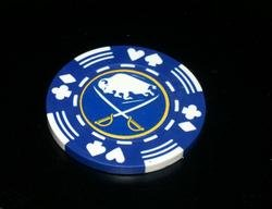 Buffalo Sabres Vegas Casino Poker Chip limited edition
