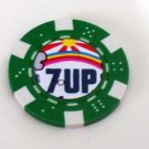 7-Up Las Vegas Casino Poker Chip limited edition