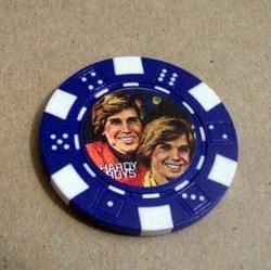 Hardy Boys Las Vegas Casino Poker Chip limited edition