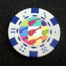 The Monkees Las Vegas Casino Poker Chip limited edition