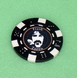 Frank Zappa Las Vegas Casino Poker Chip limited edition