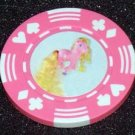 My Little Pony Rapunzel Casino Poker Chip limited ed
